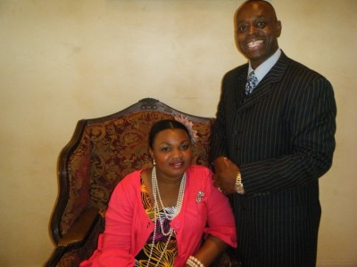 Pastor and First Lady Mason
