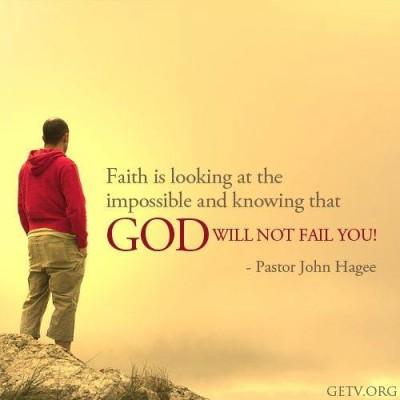 God won't Fail